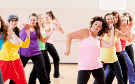 Adults Dancing Exercise