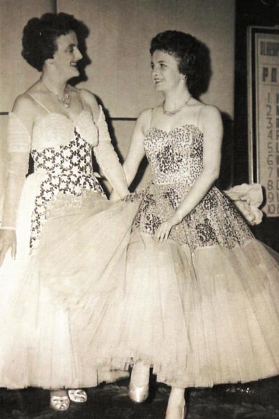 Florence Newbegin and Mavis Whiteside