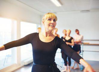 Mature Woman Ballet